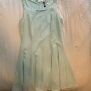 Light blue flowy dress